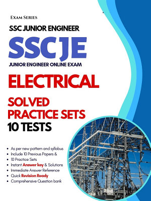 SSC Junior Engineer  JE  Electrical     10 Practice Tests     1st Edition