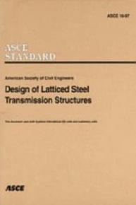 Design of Latticed Steel Transmission Structures PDF