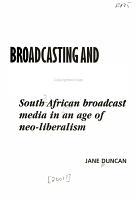 Broadcasting and the National Question PDF