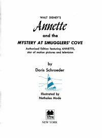 Annette and the Mystery at Smugglers  Cove  part of Disney Vault Box Set