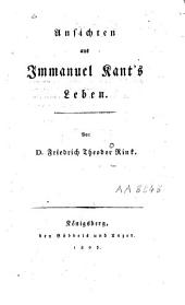 Ansichten aus Immanuel Kant's Leben