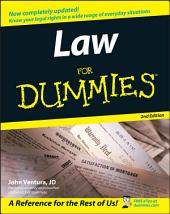 Law For Dummies: Edition 2