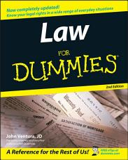 Law For Dummies PDF