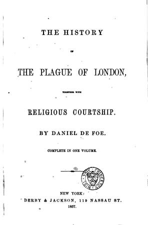 The History of the Plague of London PDF