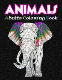 Animals Adults Coloring Book