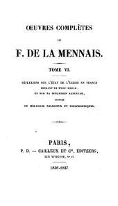 Œuvres complètes de F. de La Mennais: Volume12