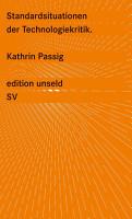 Standardsituationen der Technologiekritik PDF