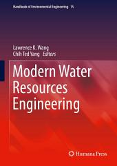 Modern Water Resources Engineering