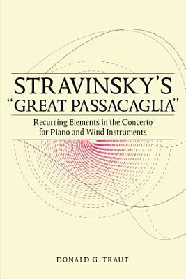 Stravinsky s  Great Passacaglia  PDF