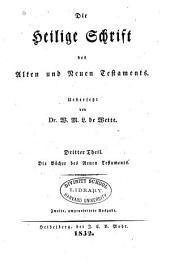 Die Heilige Schrift des Alten und Neuen Testaments: Band 3