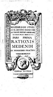 Ratio medendi in nosocomio practico Vindobonensi: Volume 1