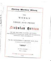 The Works in Verse and Prose of Nicholas Breton