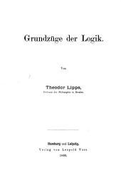 Grundzüge der Logik