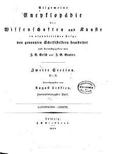 Allgemeine encyklop  die der wissenschaften und k  nste in alphabetischer Folge PDF