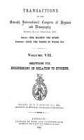 Transactions of the Seventh International Congress of Hygiene and Demography  London  August  10th 17th  1891 v  7 8 PDF