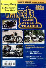 WALNECK'S CLASSIC CYCLE TRADER, OCTOBER 2000