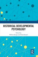 Historical Developmental Psychology PDF