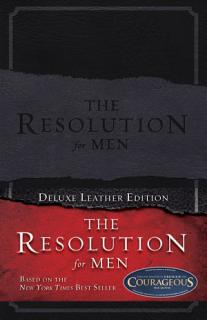 The Resolution for Men  LeatherTouch Book
