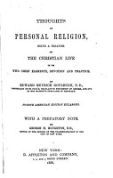 Thoughts on Personal Religion PDF