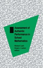 Assessment of Authentic Performance in School Mathematics PDF