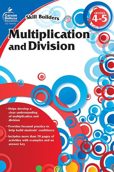 Multiplication and Division  Grades 4   5 PDF