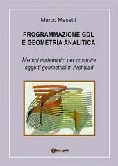 Programmazione GDL e geometria analitica