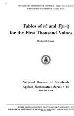 Tables of N!