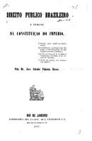 Direito publico brazileiro e analyse da constituic  o do imperio PDF