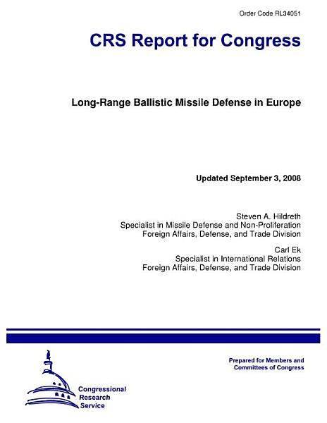 Long-Range Ballistic Missile Defense in Europe