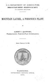 Mountain Laurel: A Poisonous Plant