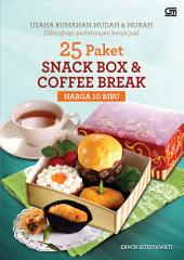 25 Paket Snack Box & Coffee Break Harga 10 ribu