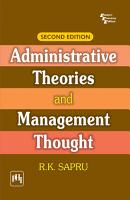 Administrative Theories And Management Thought 2Nd Ed  PDF