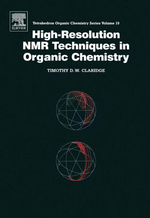 High resolution NMR Techniques in Organic Chemistry PDF