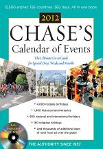 Chases Calendar of Events, 2012 Edition