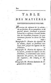 Mémoires du comte de Maurepas: Volume3