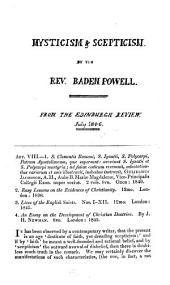Collection of articles on theological and Biblical subjects, by B. Powell. Taken from periodicals and collectaneous works