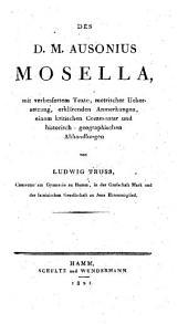 Decimius Magnus Ausonius Mosella