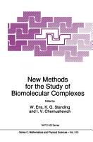 New Methods for the Study of Biomolecular Complexes PDF