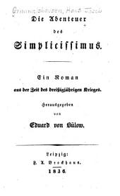 Die abenteuer des Simplicissimus: Ein roman aus der zeit des dreissigjährigen krieges
