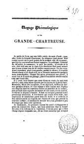 Voyage phroenologique à la Grande-Chartreuse