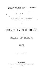 Public Documents of the State of Maine; Being the Reports of the Various Public Officers and Departments