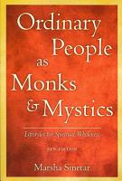 Ordinary People as Monks and Mystics PDF