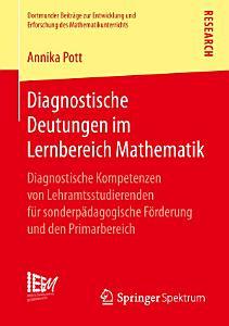 Diagnostische Deutungen im Lernbereich Mathematik PDF