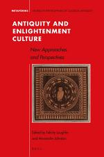Antiquity and Enlightenment Culture