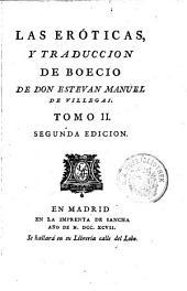Los cinco libros de la consolacion; traducidos por Estevan Manuel de Villegas: 2