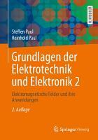 Grundlagen der Elektrotechnik und Elektronik 2 PDF