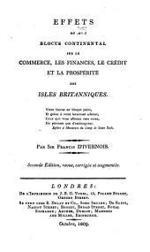 Effets du blocus continental sur le commerce: les finances, le crédit et la prospérité des Isles Britanniques