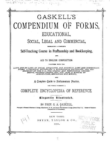 Gaskell s Compendium of Forms PDF