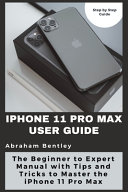 IPhone 11 Pro Max User Guide