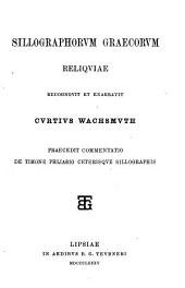 Corpusculum poesis epicae Graecae ludibundae, a P. Brandt (C. Wachsmuth) ed
